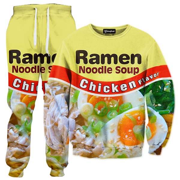 Chicken ramen tracksuit all. Foods clipart noodle