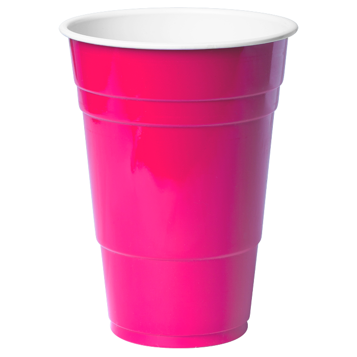 Pink ml x pack. Cups clipart purple cup