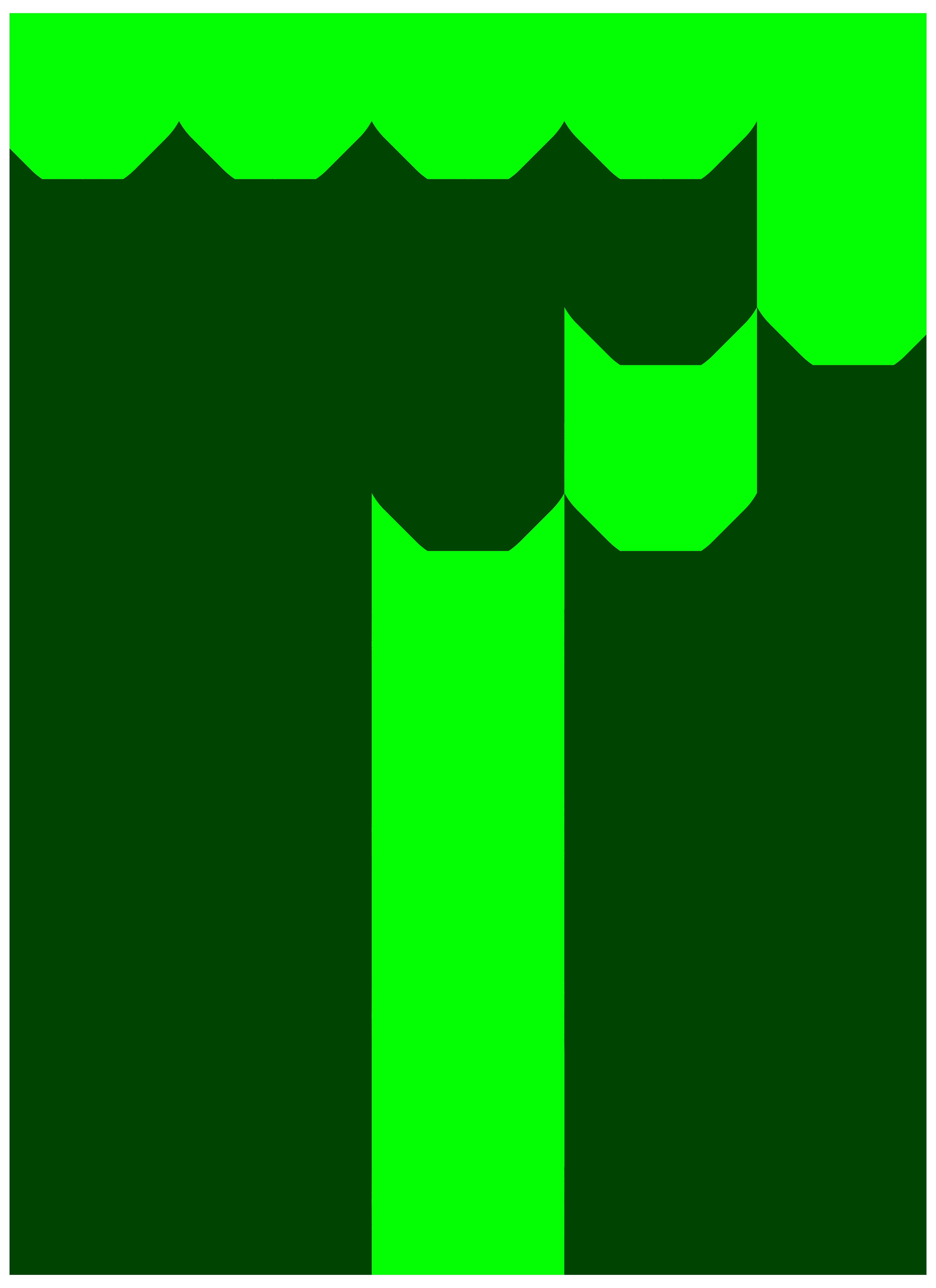 Digital number seven png. Dot clipart decorative