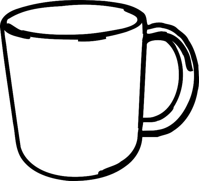 collection of blank. Cups clipart sketch