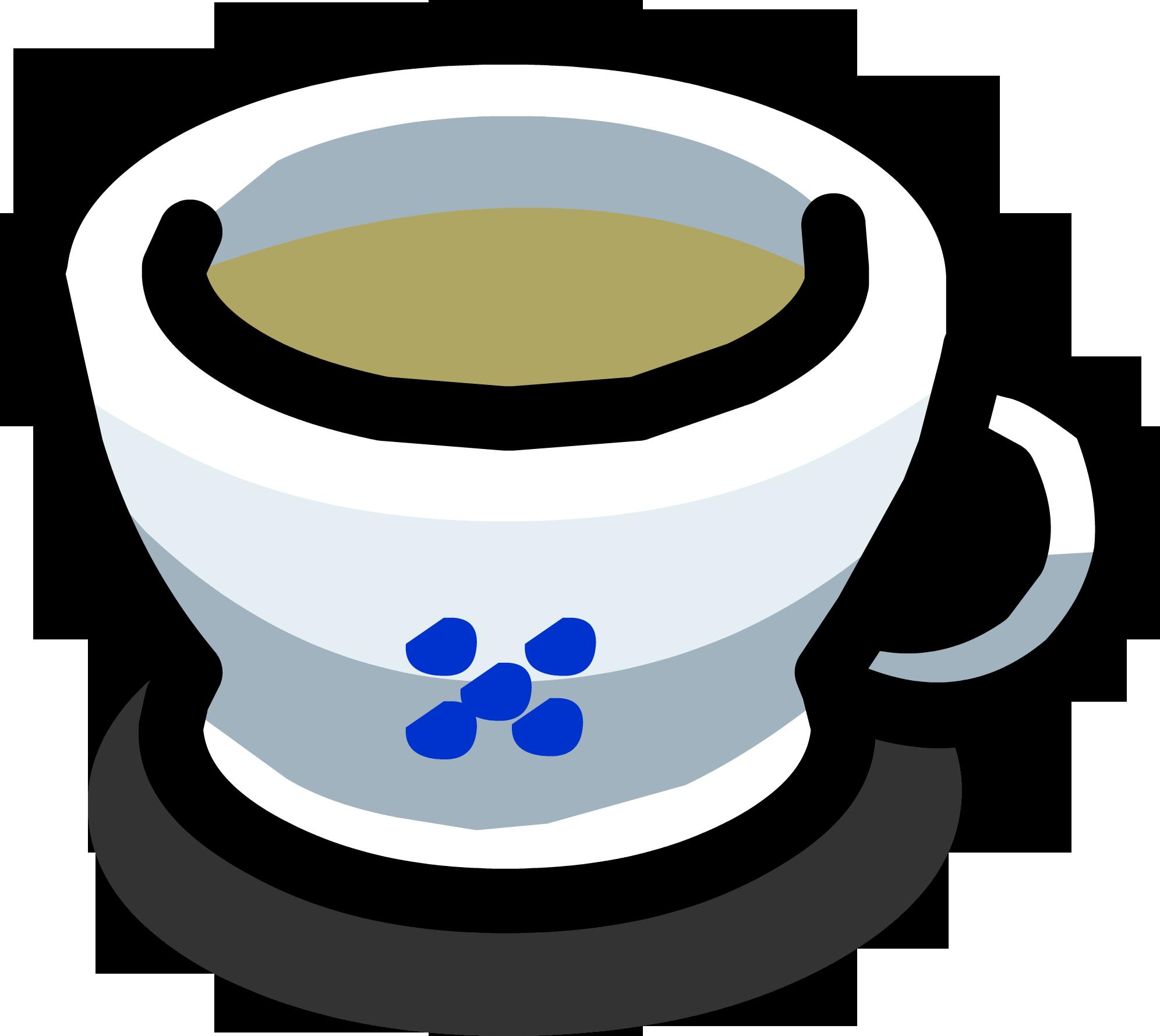 Clipart cup slushie. Green tea club penguin