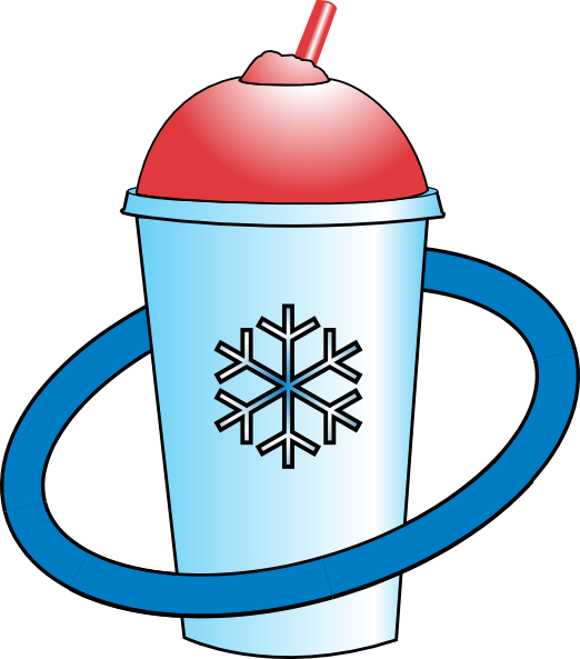 Clipart cup slushie. Icee clip art at