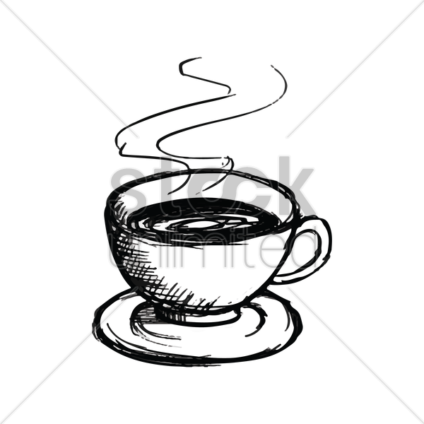 Of coffee drawing at. Clipart cup spilling