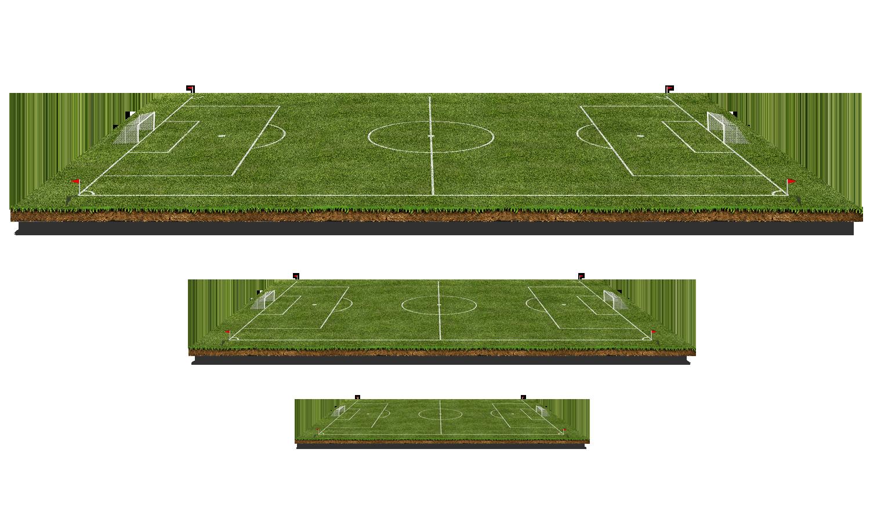Football pitch d computer. Mat clipart green
