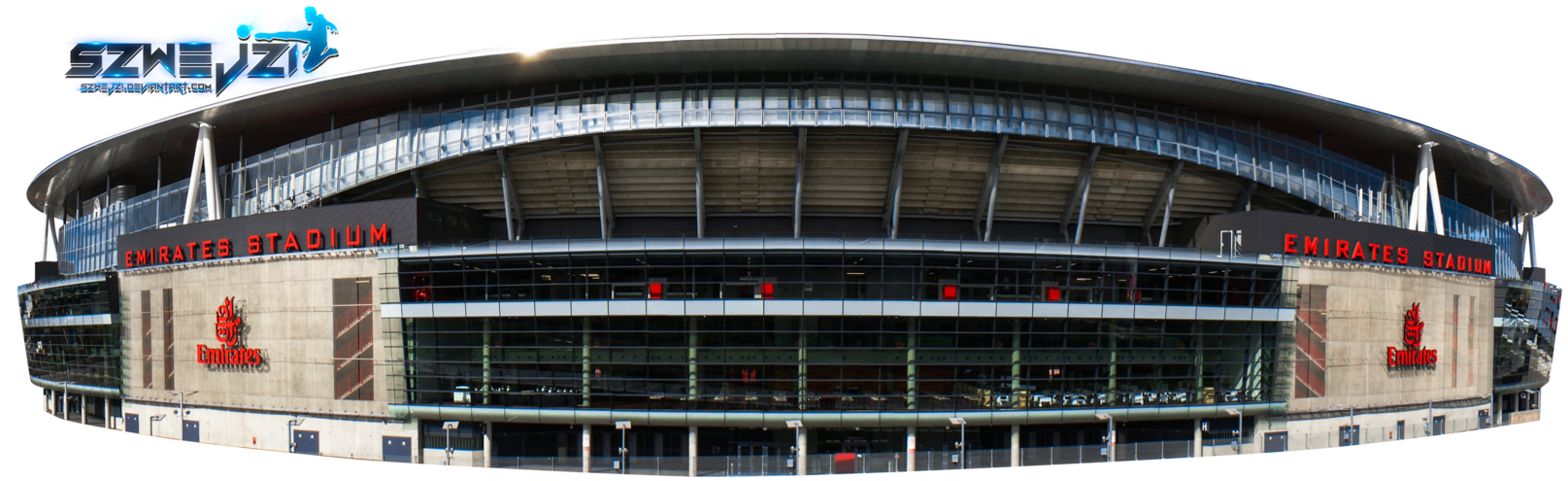 Emirates by szwejzi on. Cup clipart stadium