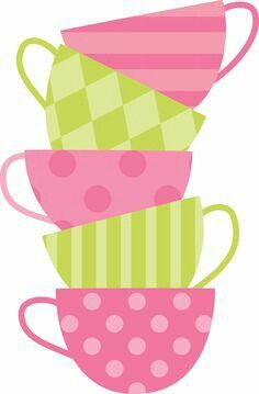 Tea cups free download. Cup clipart stuff pink