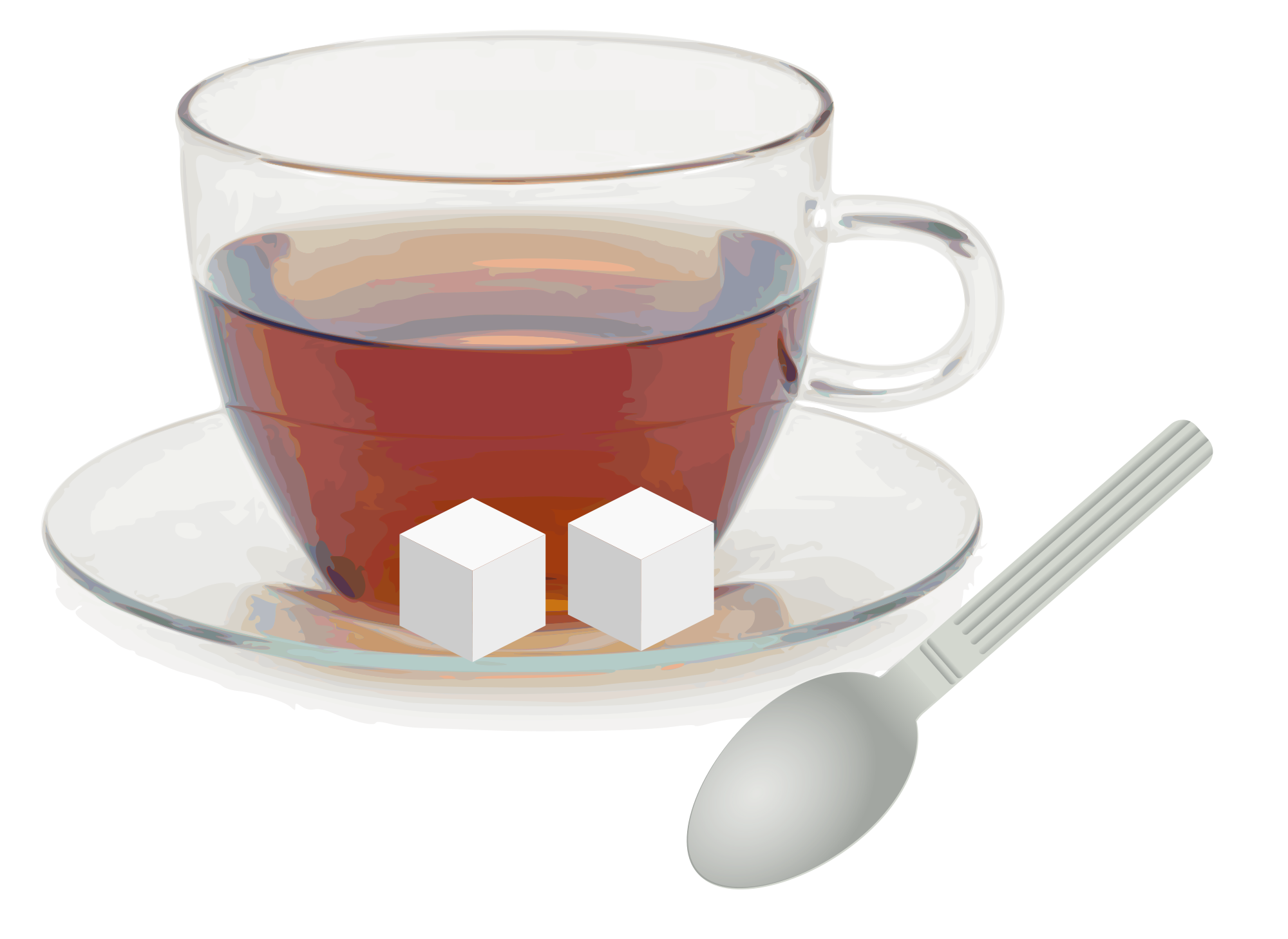 File glass with saucer. Cup clipart 3 cup