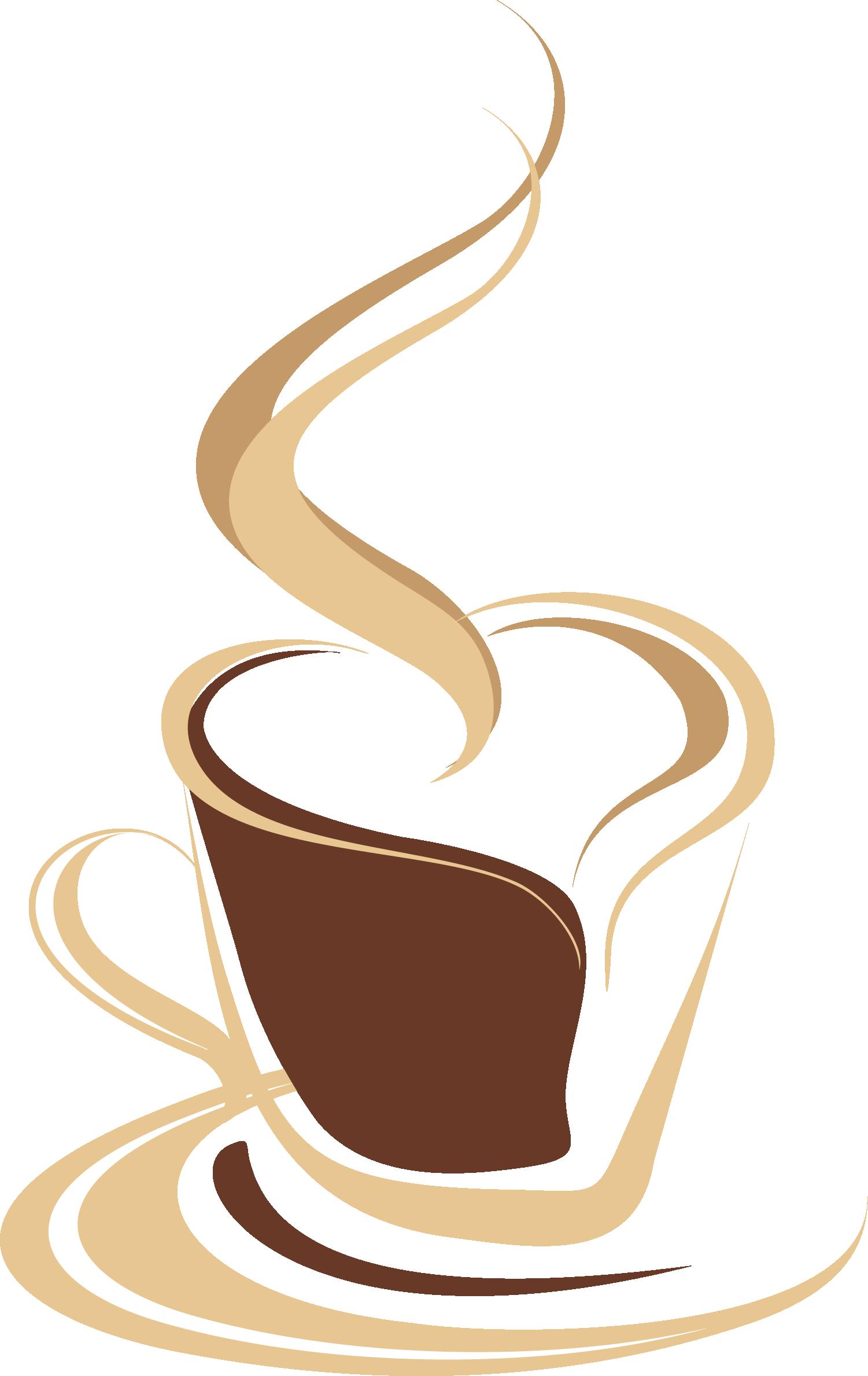 Coffee cup tea cafe. Clipart milk mug