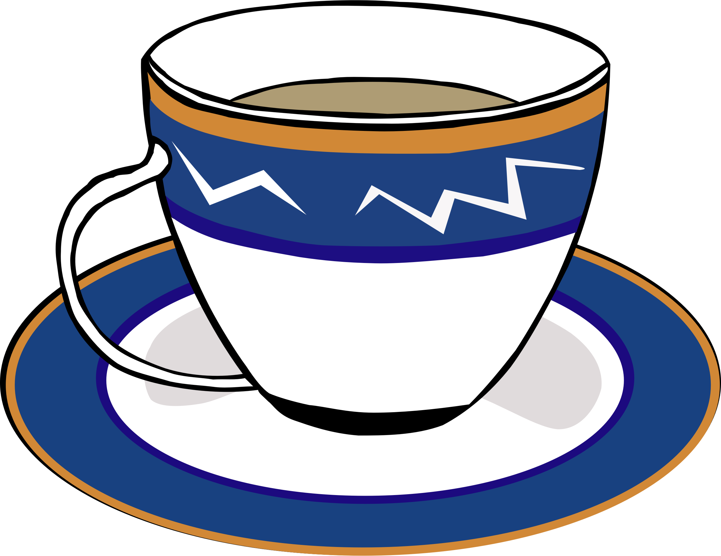 collection of tea. Cup clipart blank
