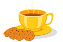 Search results for clip. Tea clipart tea biscuit