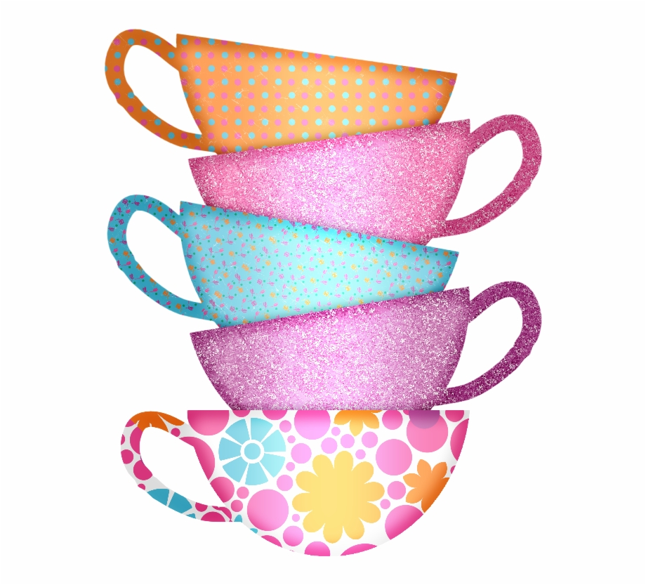Cups clipart stacked cup. Mmd gtp tea clip