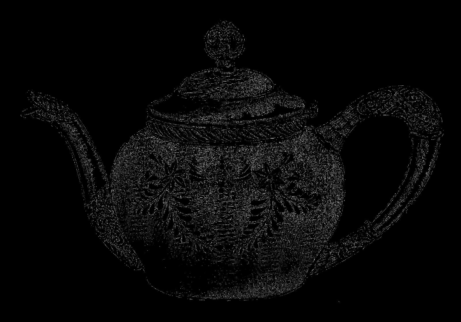 Free tea in a. Cups clipart teapot