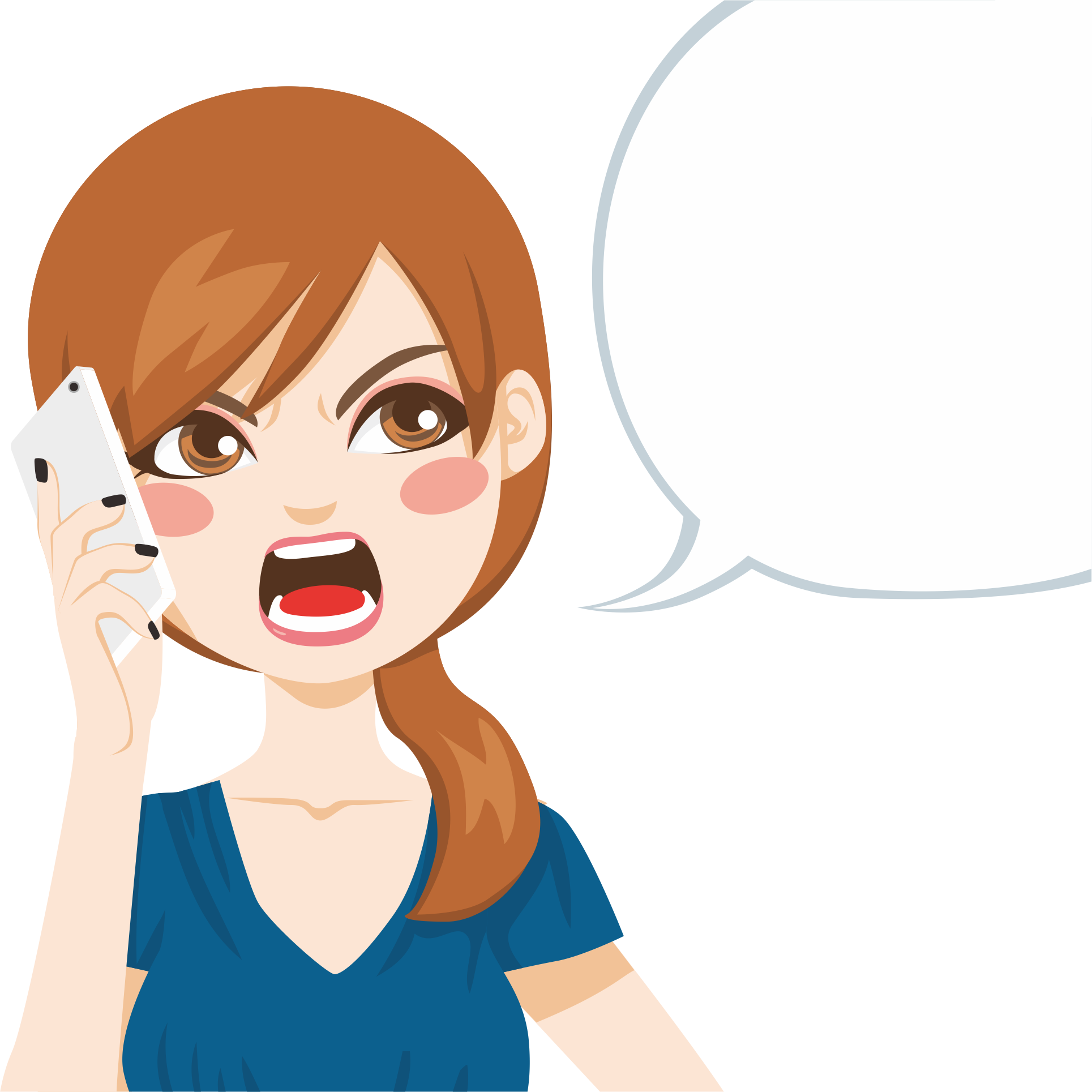 Skin clipart illustration. Cartoon telephone call royalty