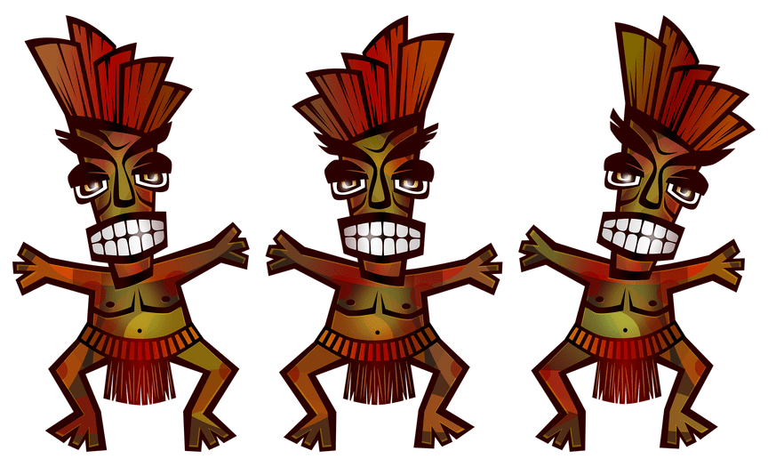 Torch clipart tiki hawaii. Top bar decorating ideas