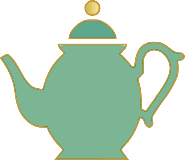 Cup clipart vector. Kettle pencil and in