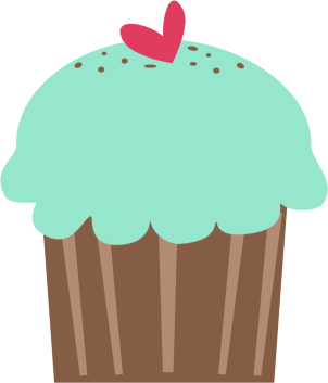 Clip art images green. Clipart cupcake