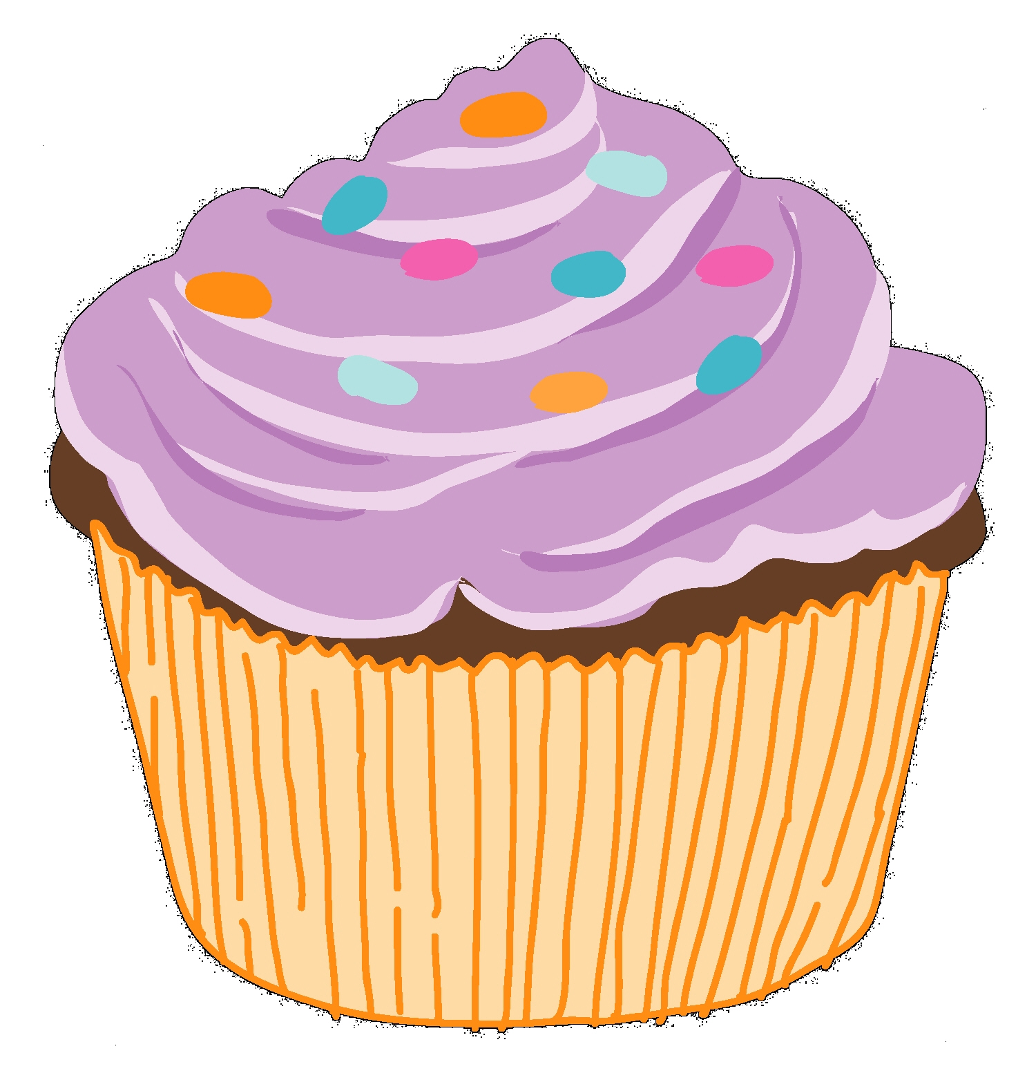 Muffins clipart giant cupcake. Free download panda