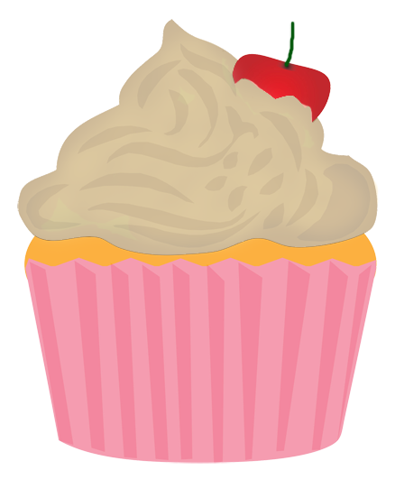 Clipart cupcake banner. Images gallery for free