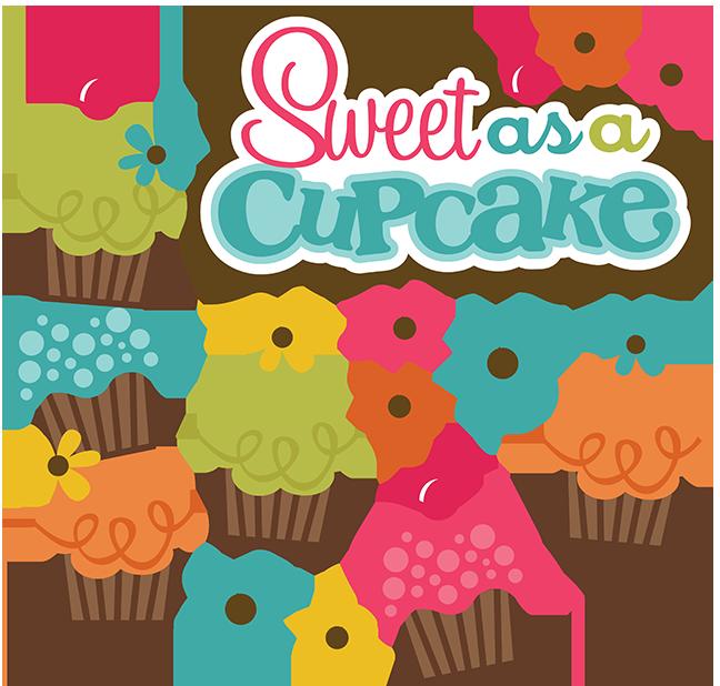 Sweet as a cupcake. Scrapbook clipart camera