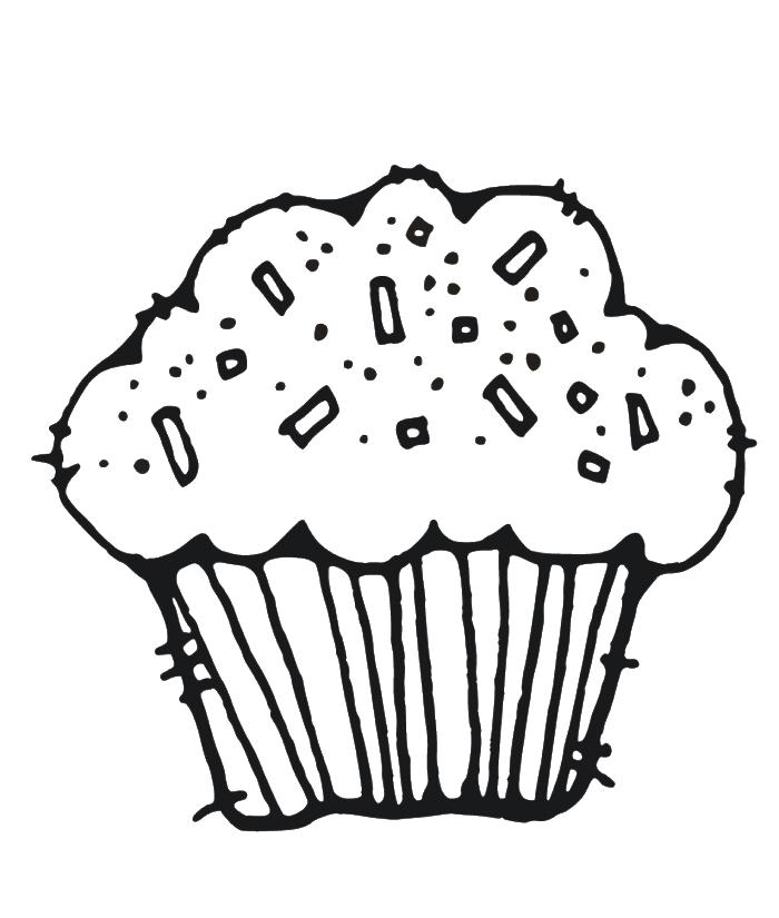 Muffin clipart rainbow cupcake. Cute drawing at getdrawings