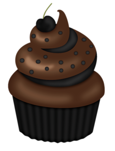 Pin on card kitchen. Clipart cupcake choclate