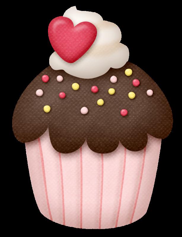 Clipart cupcake collage. Lliella cloud png pinterest