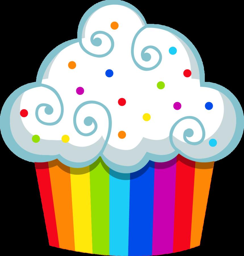 Cupcake coloured