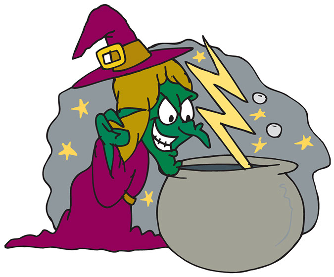 Witch clipart scary. Free witches pictures download