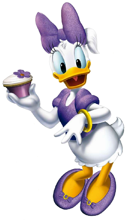 Pirate clipart duck. Daisy art w cupcake
