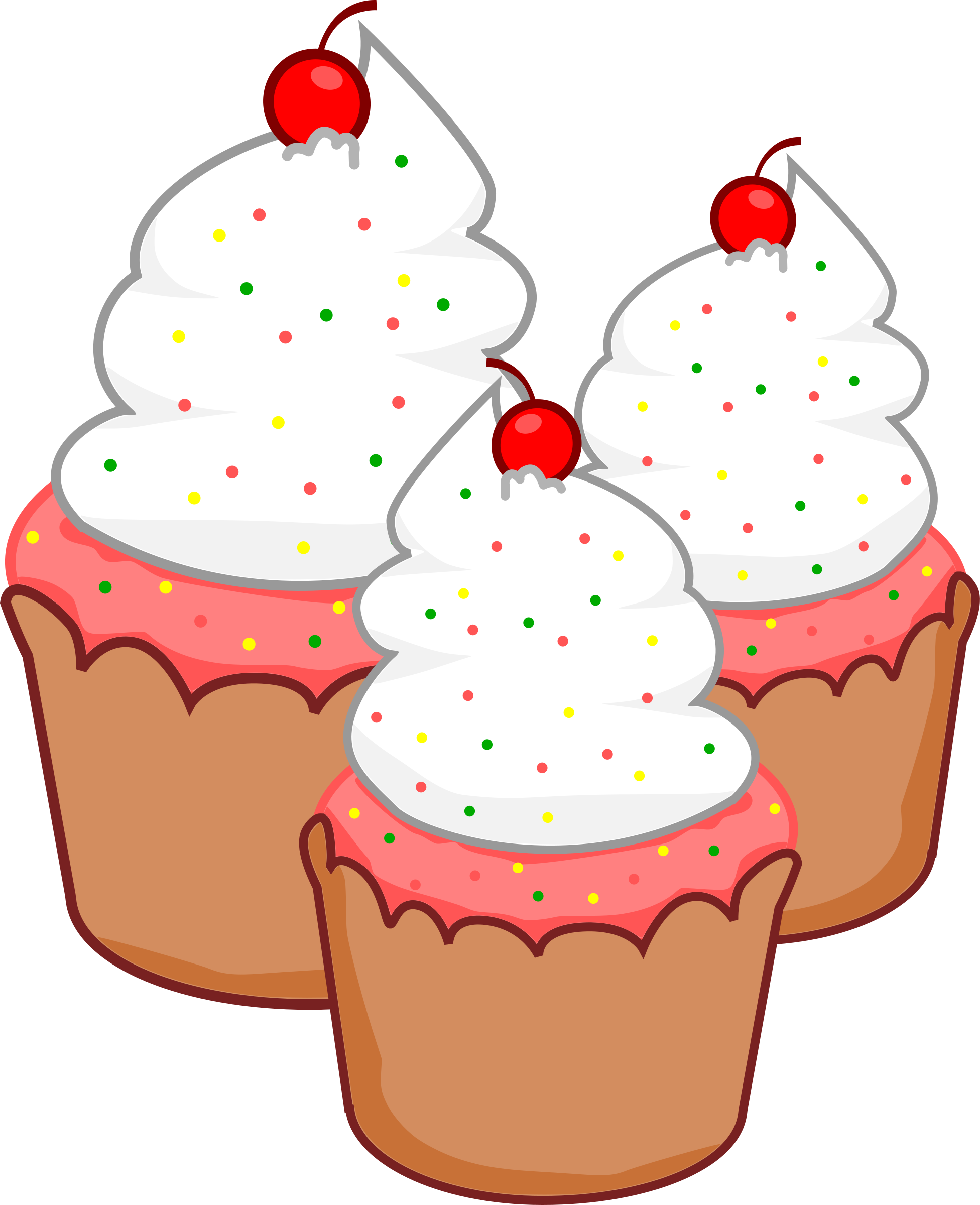 Desserts clipart cupcake. Cupcakes big image png