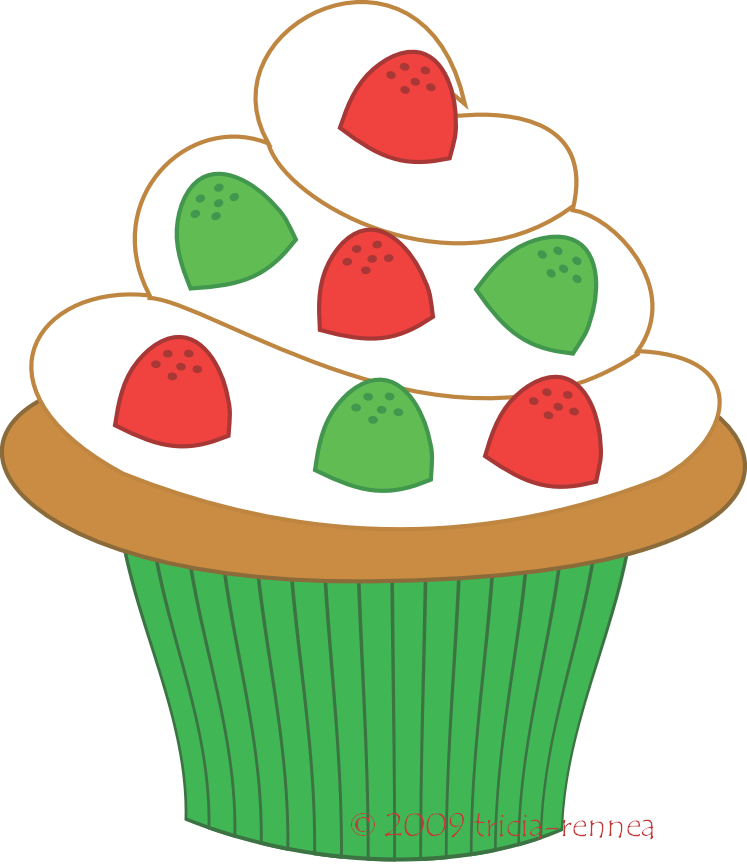 Cupcakes clipart winter. Cupcake free large images