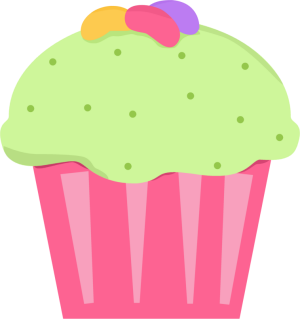 Muffins clipart green cupcake. Free easter cliparts download