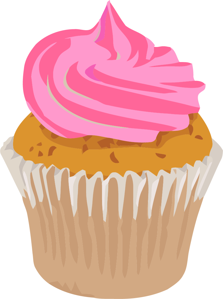 Realistic Cupcake Clipart Png Picture