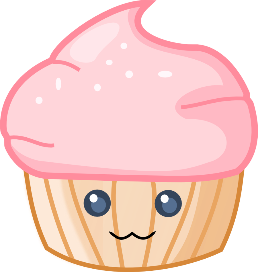collection of cute. Muffin clipart kawaii