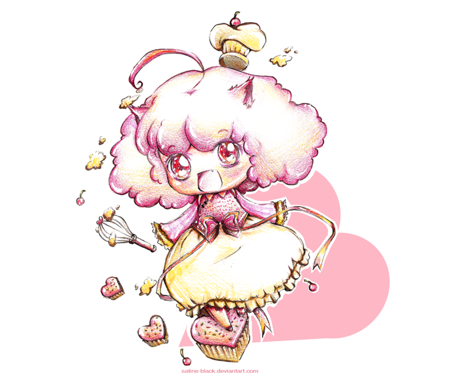 Fairy clipart cupcake. The mei by satine