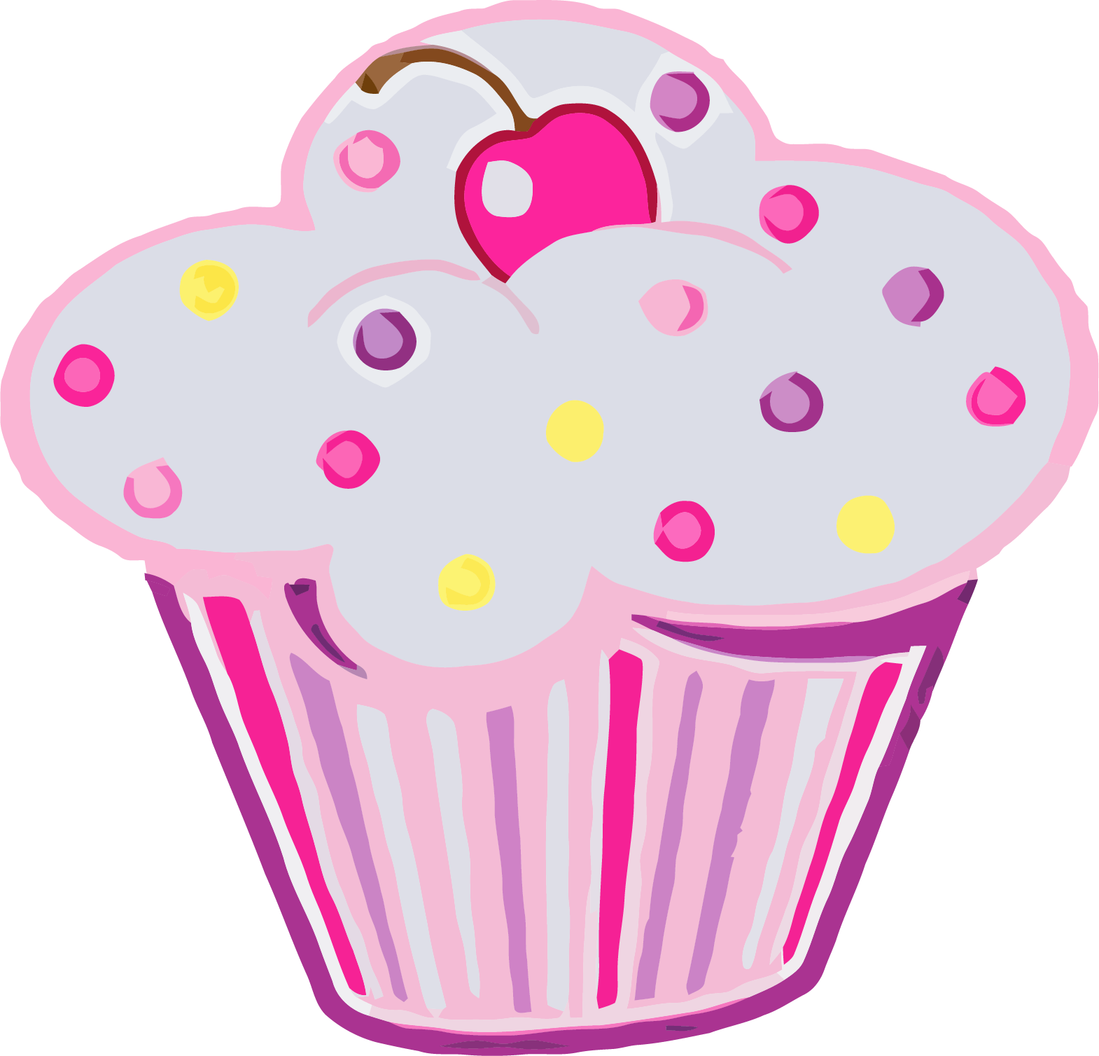 Png jokingart com download. Coloring clipart cupcake