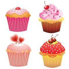 Cupcake clipart four.  best pics images