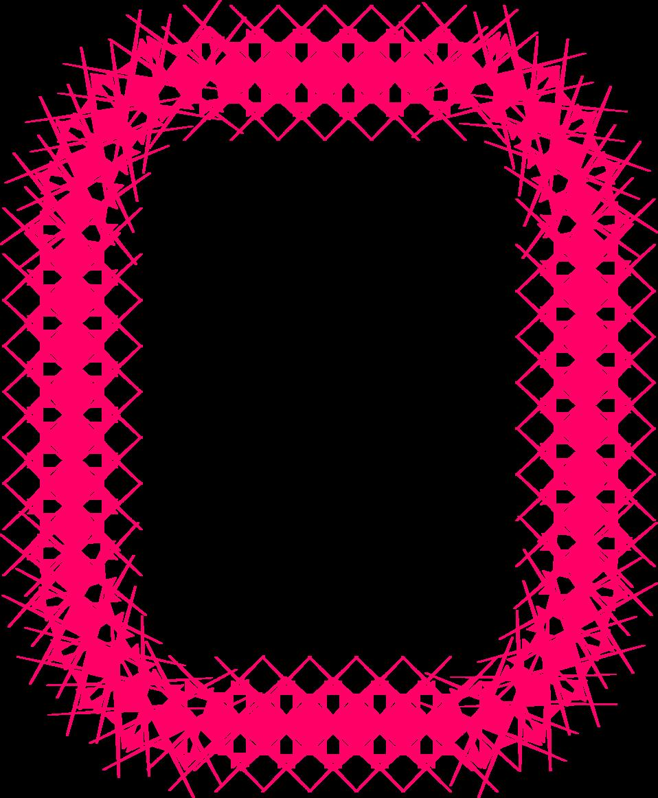 Border pink free stock. Clipart cupcake frame