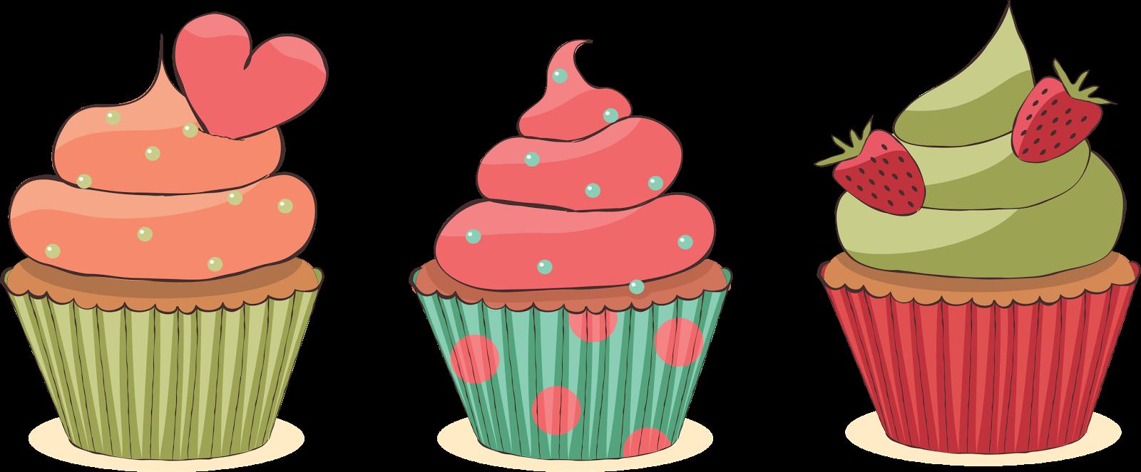Cupcakes desenho vintage pesquisa. Muffin clipart cake and ice cream