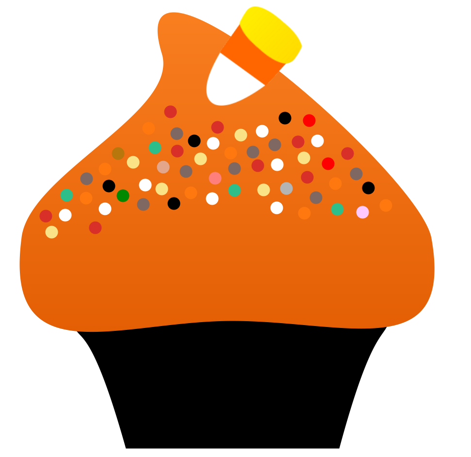 Image detail for cupcake. Frozen clipart halloween