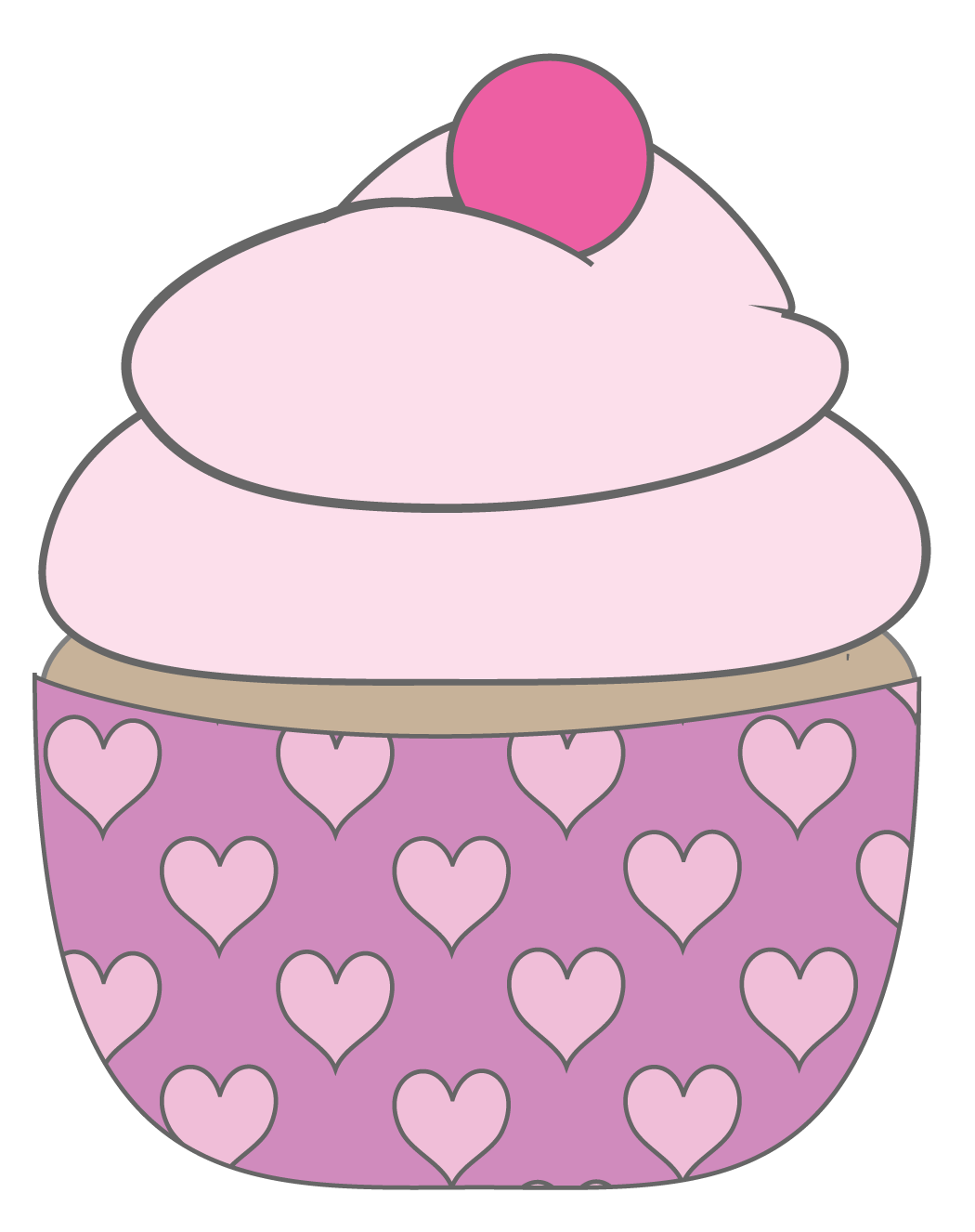 Baby . Clipart designs cupcake