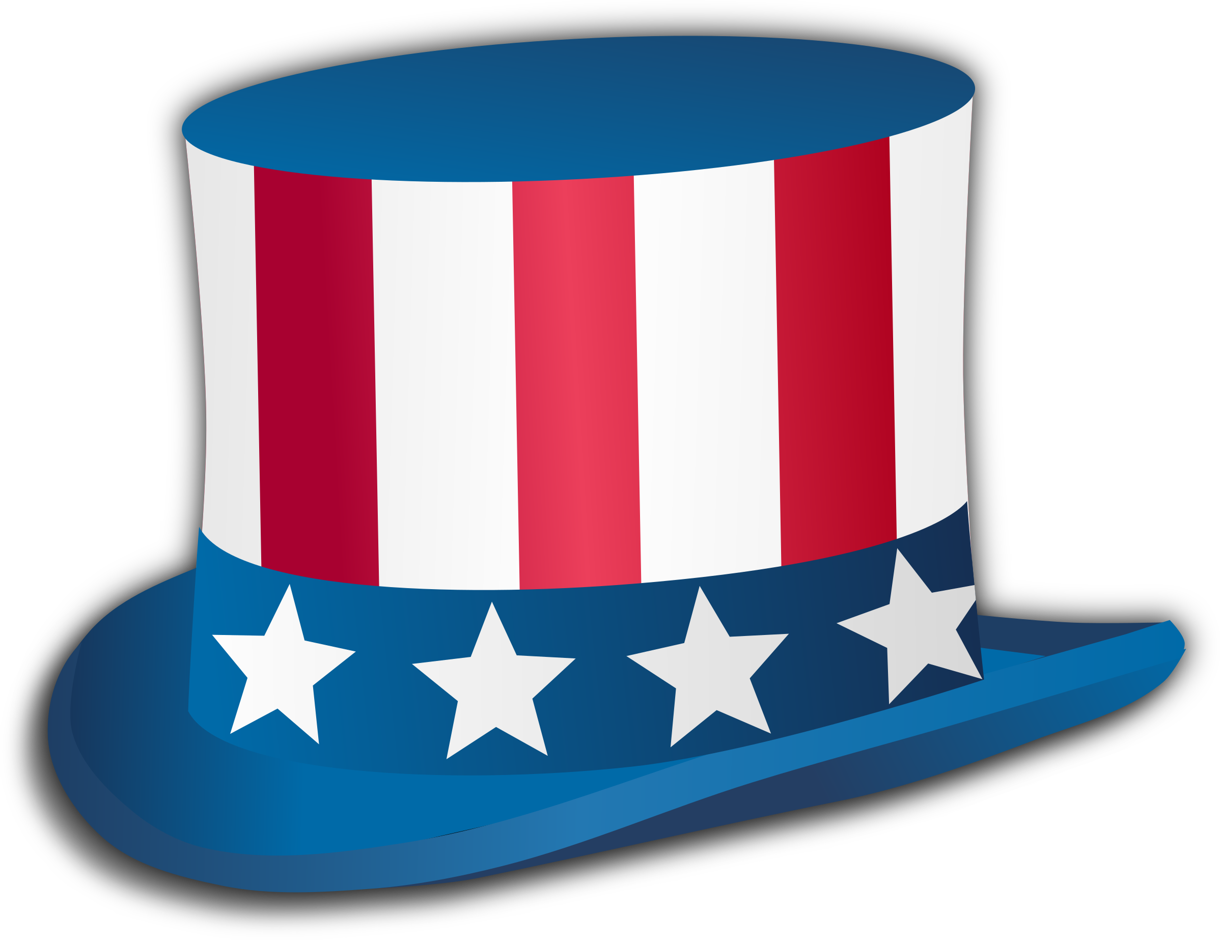 Hats clipart 4th july. Th hat big image