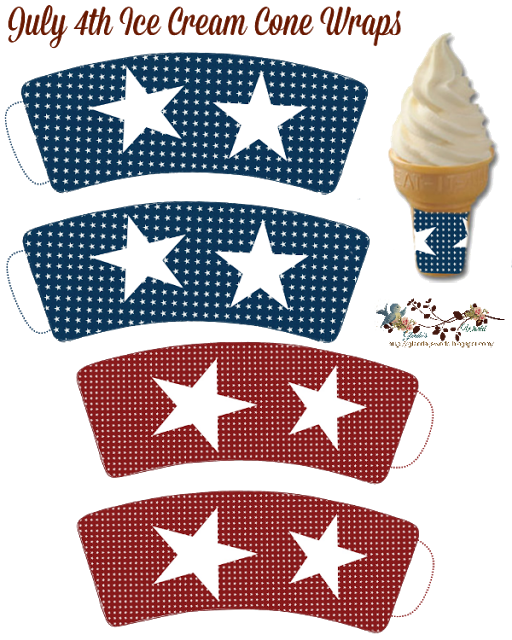Fourth of party templates. Ice clipart 4th july