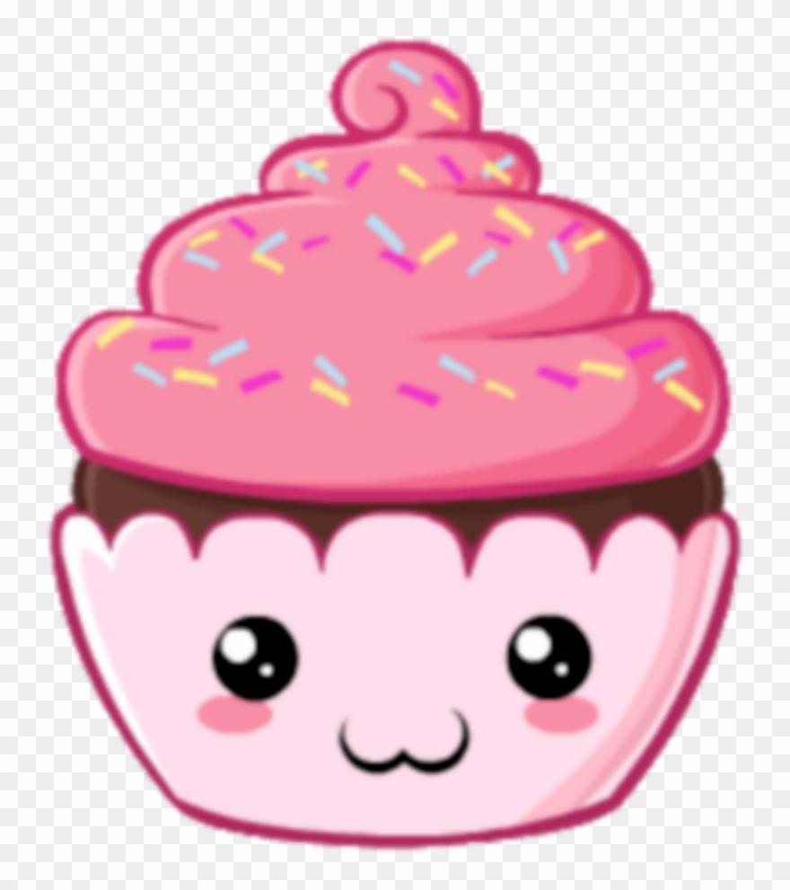 Kawaii clipart cupcake, Kawaii cupcake Transparent FREE ...