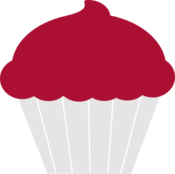 Clip art at clker. Muffin clipart 3 cupcake
