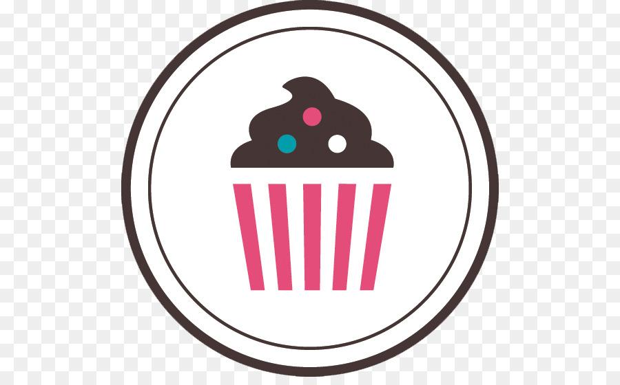 Clipart cupcake logo. University icon emblem circle