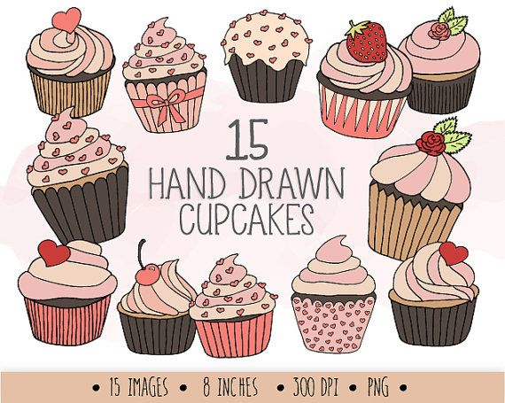 Muffin clipart doodle. Pin on doodles