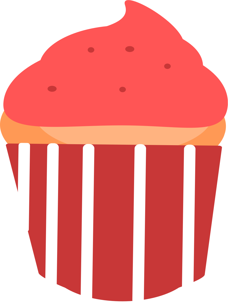Muffin clipart 3 cupcake. Big image png