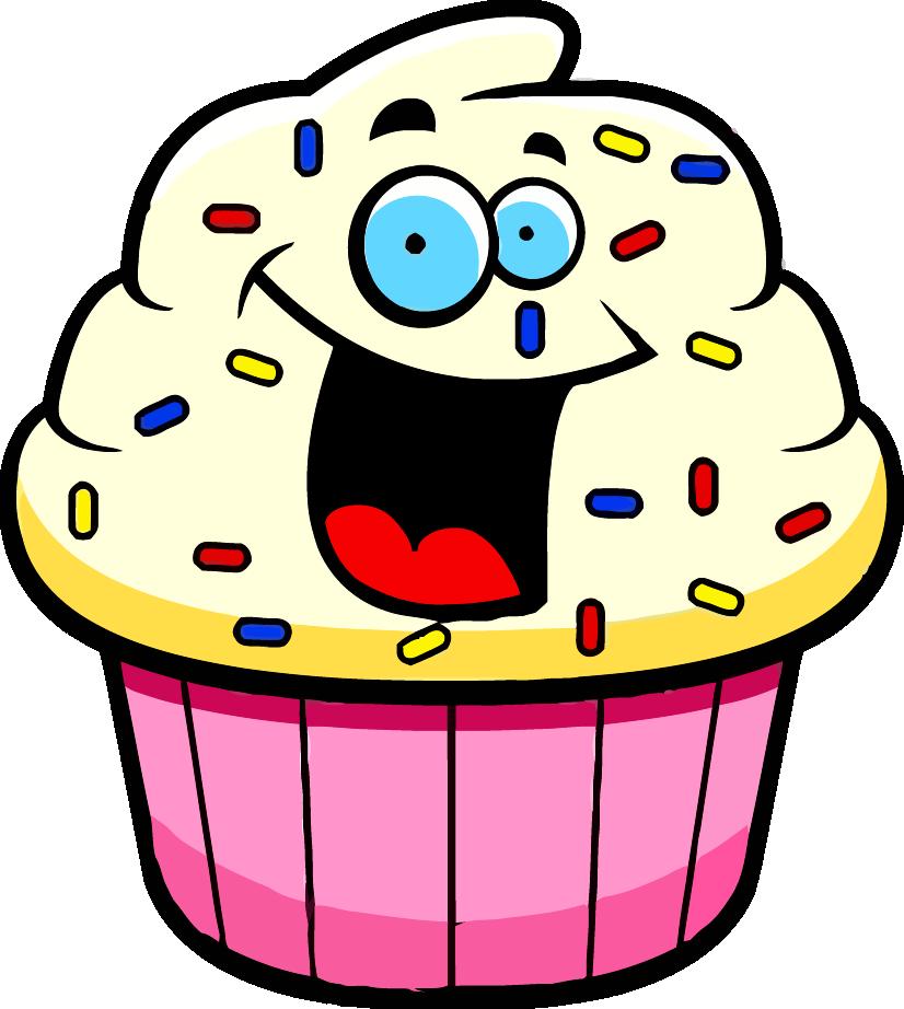 Storytime clipart october 2016 calendar. Cartoon cupcake clipartly comclipartly
