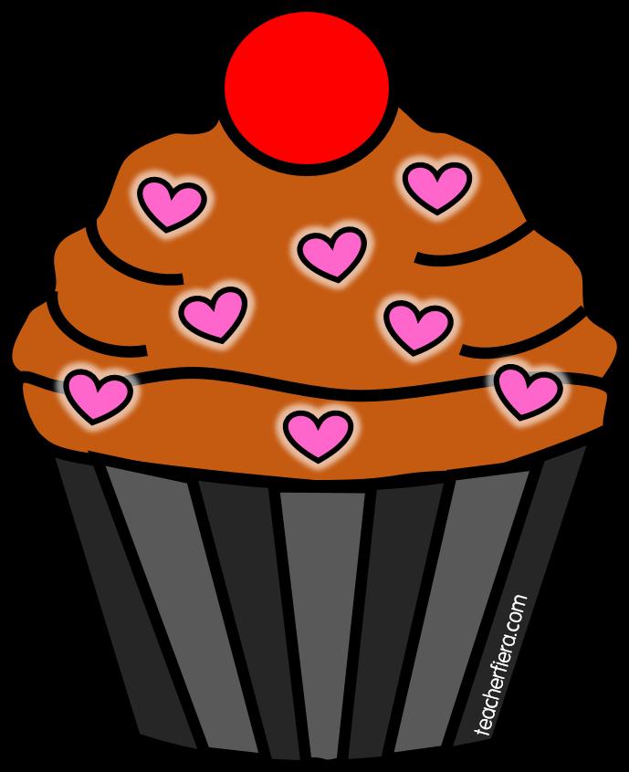 Teacherfiera com cliparts sunday. Cupcake clipart november